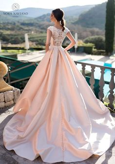 2019 bridal cap sleeves wedding dress with pockets covered w.- 2019 bridal cap sleeves wedding dress with pockets covered wirh simple clean neckline back chapel train bride gown from Handmade Dress Please+noted: Western Wedding Dresses, Sexy Wedding Dresses, Wedding Dress Sleeves, Bridal Dresses, Wedding Gowns, Dress Lace, Blush Lace Wedding Dress, Wedding Venues, Wedding Ideas