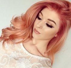 Blorange Haarfarbe -lange-haare-romantisch-warme-nuance