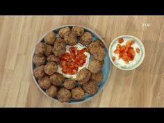 Κεφτεδάκια με ντιπ γιαουρτιού | Ώρα για φαγητό με την Αργυρώ | 20/05/2021 - YouTube Dog Food Recipes, Youtube, Dog Recipes, Youtubers, Youtube Movies