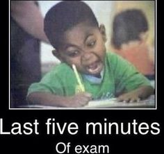 COME ON COME ON TEST FIVE MINUTES LEFT
