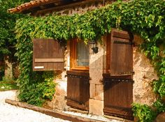 Montbron Gite Rentals in France   A Characterful Gite Set in Mature Gardens with Shared (with Owners Only) Pool, near Montbron #france #rustic
