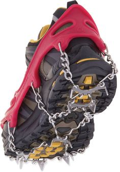 Add some traction to your hiking boots this winter.: Add some traction to your hiking boots this winter.