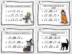 Tarjeta rítmica 17 a 20