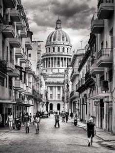El Capitolio...ah La Habana