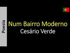 Poetry (EN) - Poesia (PT) - Poesía (ES) - Poésie (FR): Cesário Verde - Num Bairro Moderno