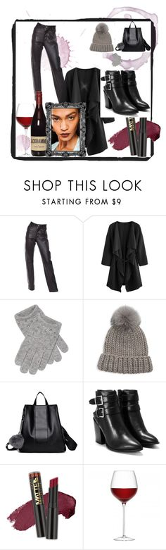 """Bez naslova #2"" by naza-2 ❤ liked on Polyvore featuring Helmut Lang, Portolano, Eugenia Kim, Nasty Gal and L.A. Girl"