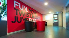 Wall Graphics for Gym fitness centre - http://www.vinylimpression.co.uk/pages/case-studies