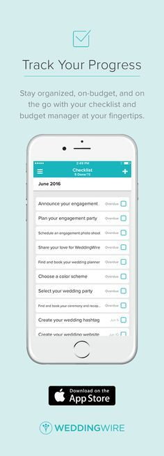 Download the only Wedding Planning App you'll ever need! Manage your checklist & budget, read vendor reviews & make bookings, browse inpsiration & more!