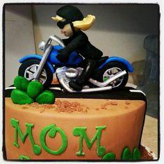 My mom's bday cake