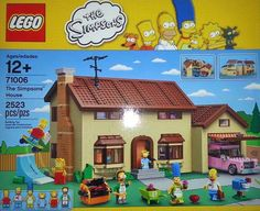 First Simpsons LEGO Set Announced for 2014!