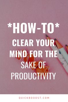 When you're struggling to be productive, try out this simple tactic. Watch as your focus and productivity increase like never before. #productivity #productive Day Schedule, Good Time Management, Clear Your Mind, Productivity Hacks, Productive Day, Write It Down, Achieve Your Goals, To Focus, Getting Things Done