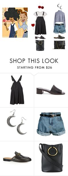 """PROUD FAMILY"" by jayda-xx ❤ liked on Polyvore featuring MTWTFSS Weekday, Monki, Maryam Nassir Zadeh, Retrò, Gucci, STELLA McCARTNEY and Lanvin"