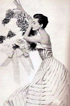 Mary Jane Russell, Harper's Bazaar Oct. 1951