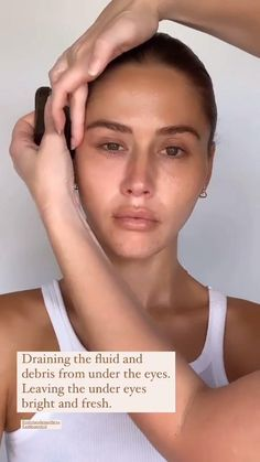 Beauty Care Routine, Beauty Routines, Face Care, Skin Care, Hair Tutorials For Medium Hair, Face Exercises, Face Yoga, Face Massage, Gua Sha