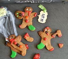 Zombie gingerbread men