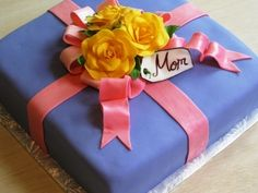 Mother's Day Cake By cakefella on CakeCentral.com