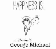 No necesito terapia, lo único que necesito es escuchar a George Michael