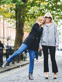 How to Ace All of the Latest Jean Trends in Your 30s via @WhoWhatWearUK