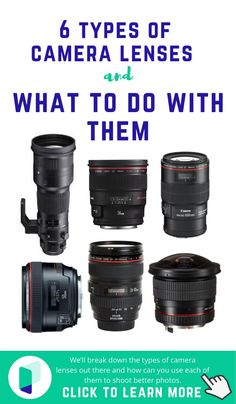 We receive a lot of questions from beginner photographers on what lenses should they buy. Best Canon Lenses, Best Canon Camera, Best Camera Lenses, Nikon Lenses, Canon Cameras, Nikon Dslr, Nikon D7100, Best Camera For Photography, Gopro Photography