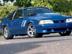 1990 Ford Mustang (Blue)