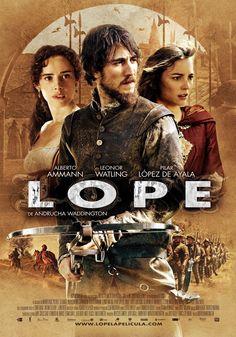 Lope (2010) | Conquistador, espadachín y por supuesto poeta... Alberto Ammann es Lope de Vega en este biopic de una parte...
