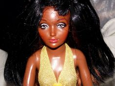 e35c249b8eacd Vintage 1973 Tiffany Taylor Black 18 1 2 Ideal Doll Nice No Reserve