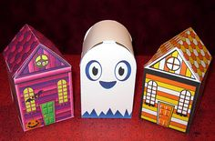 halloween paper toys !