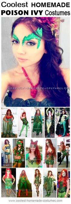 Homemade Poison Ivy Costume Ideas - One day I will fulfill my dream of being Poison Ivy....one day....