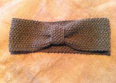 Primulavej: Strikket pandebånd med opskrift DIY