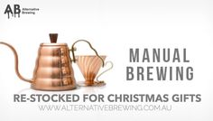 See our friends @alternativebrewing online and browse all your brewing gear & Christmas gifts!   Shop Kettles  Shop Scales  Shop methods  Shop Coffee storage Shop Coffee Servers Link in Bio  @alternativebrewing  1-3 Days Shipping in Australia 7-10 Worldwide by originalaeropress