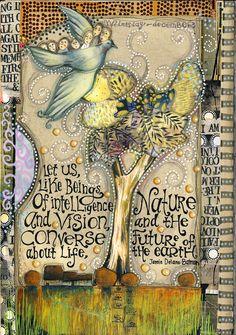 The Queen of Art Journaling!!  Teesha Moore