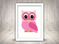 Owl Clip Art Cute Owls Cute Owls Clipart Printable Clip #cuteowl Owl Clip Art, Cute Owl, Cute Illustration, Owls, Digital Prints, Printables, Illustrations, Unique Jewelry, Frame