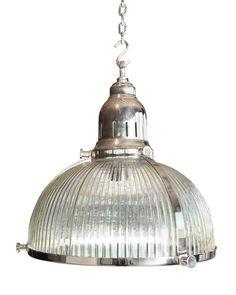 Hanglamp Ribbed met handgeblazen glas