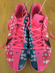 New Nike size 10 Zoom W Women's Track Spikes Distance Cross Country Shoes Girls #Nike #RunningCrossTraining