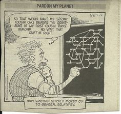 Even Einstein had trouble with his genealogy.