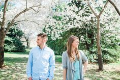 Cherry Blossom engagement session Washington, D.C.