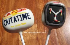 Back to the Future cake pops