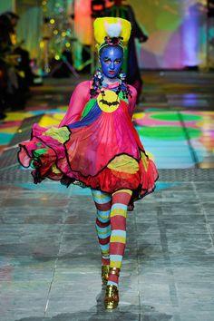 Meadham Kirchhoff, AW12 London Fashion W