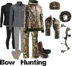 """""""Bow hunting"""" by katelynstephens ❤ liked on Polyvore"""