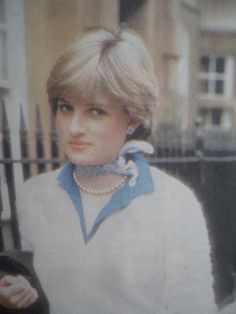 Lady Diana Spencer between her front door and her car a press pack would follow her.
