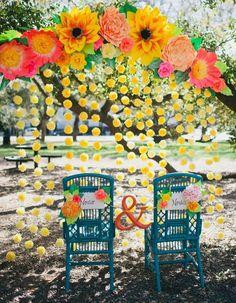 27 Must-See Dia de los Muertos Wedding Ideas via Brit + Co