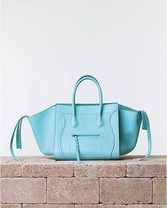 Luggage bag turchese Celine