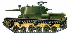 Light tank infantry support T-111