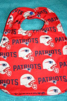 Catch the food and drool the way Edelman catches passes.........with a cute Patriots bib by BeautyandJoy on Etsy