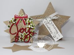 Yvonne's Stampin' and Scrap Blog: Stampin' Up! Made my own Star boxes