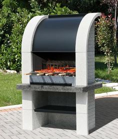 Best Barbecues Images On Pinterest Grilling Outdoor Cooking - Barbecue de jardin en pierre