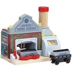 Thomas & Friends Wooden Railway: Sodor Power Station
