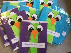 cahier School Notebooks, Petite Section, Notebook Covers, Back To School, Crafts For Kids, Preschool, Scrapbook, Teaching, Activities