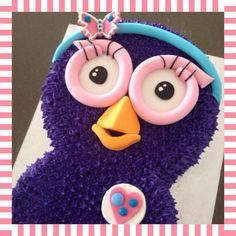 Ava's 2nd Birthday - Hootabelle Cake - Giggle & Hoot