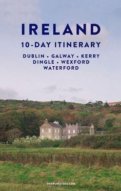 The Perfect Ireland Itinerary & Road Trip ireland, ireland travel, ireland vacation, ireland landsca Ireland Travel Guide, Europe Travel Tips, European Travel, Travel Guides, Places To Travel, Travel Destinations, Travel Goals, Connemara, Eurotrip